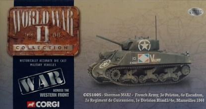 Corgi CC51005 Sherman M4A2-French Army
