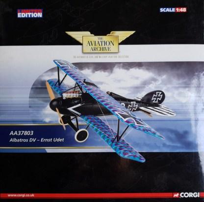 Albatros DV-Ernst Udet Corgi AA37803
