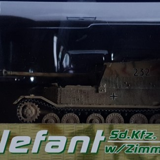 Elefant w Zimmerit Sd Kfz 184 sPzJgAbt 653 Russia Polland 1944 Drago Armor 60053