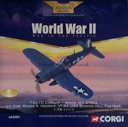 Corgi AA33005 F4U-1D Corsair