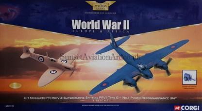 Corgi AA99110 DH Mosquito & Supermarine Spitfire