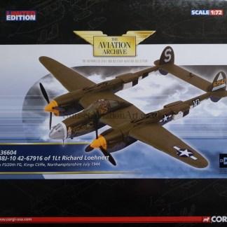 Corgi US36604 P-38J-10