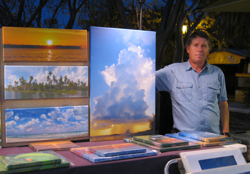 Sunset Celebration in Key West Gallery of Artisans