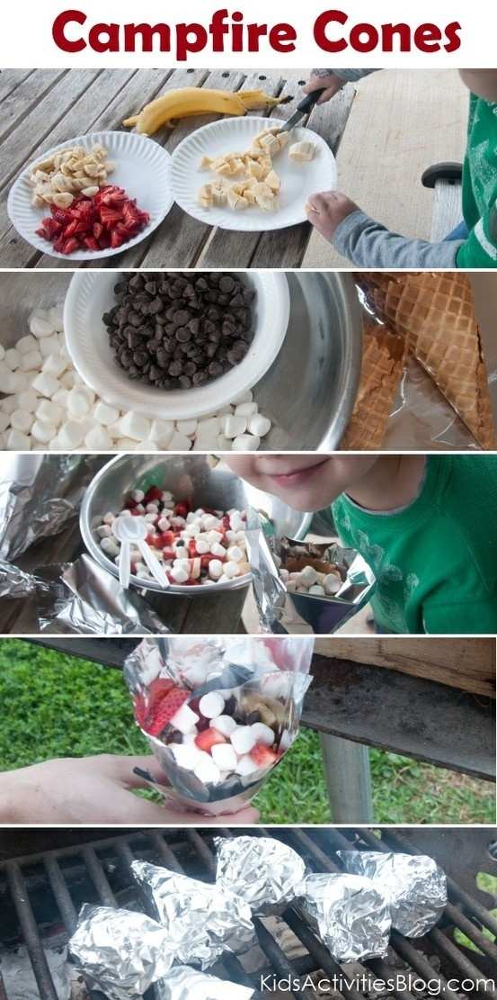 Make campfire cones