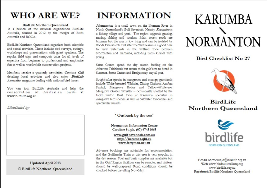 02 Karumba Normanton Birds