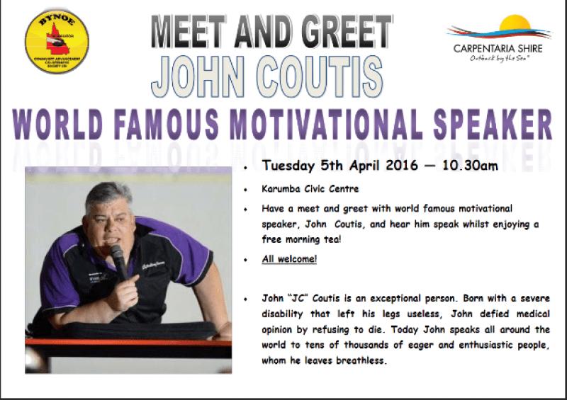 World Famous Motivational Speaker