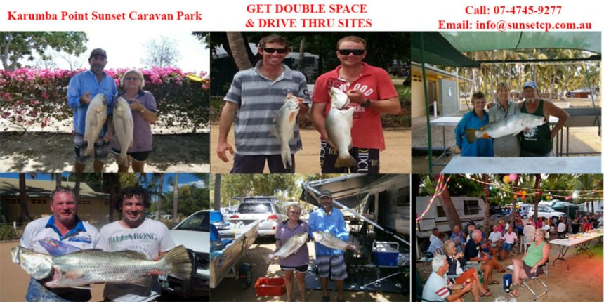 get-double-space-karumba-point-sunset-caravan-park