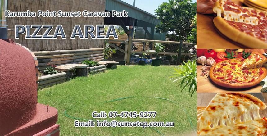 Karumba Point Sunset Caravan Park Pizza At Park