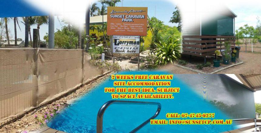 Karumba Point Sunset Caravan Park Accommodation Ensuited Cabins Villas Swimming Pool