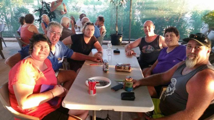 Karumba Point Sunset Caravan Park - Park Activities Visitors to Park Enjoy at Park Cafe