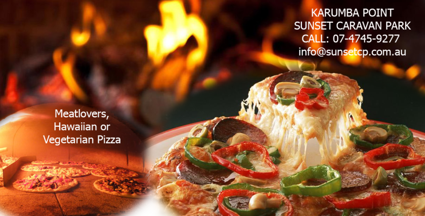 Pizza Lover Karumba Point Sunset Caravan Park Special Pizza