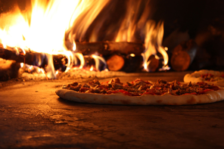 Wooden Fired Tasty Pizza Karumba Point Sunset Caravan Park
