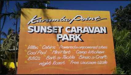 Karumba Point Sunset Caravan Park Travel
