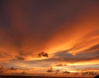 Beautiful Sunset View Karumba Point Sunset Caravan Park