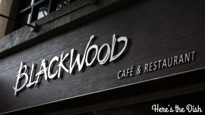 Here's the Dish: Sneak Peek of Blackwood