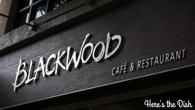 Here's the Dish: Sneak Peek of Blackwood