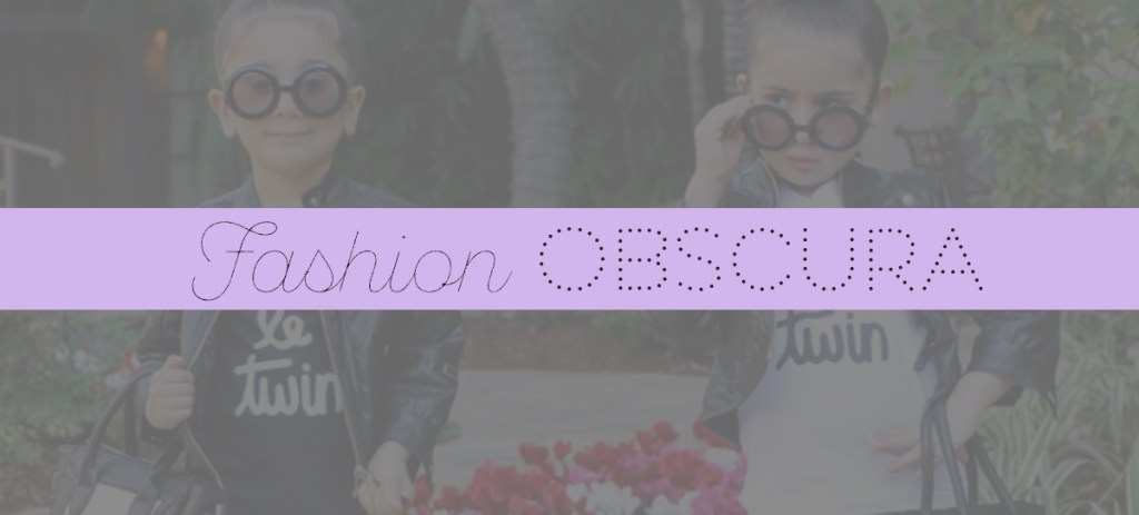 Fashion Obscura: Playing By Your Own Rules