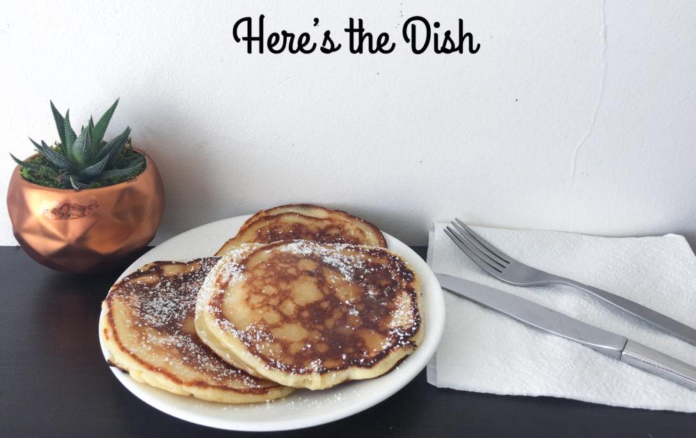 Here's the Dish: Lemon Ricotta Pancakes