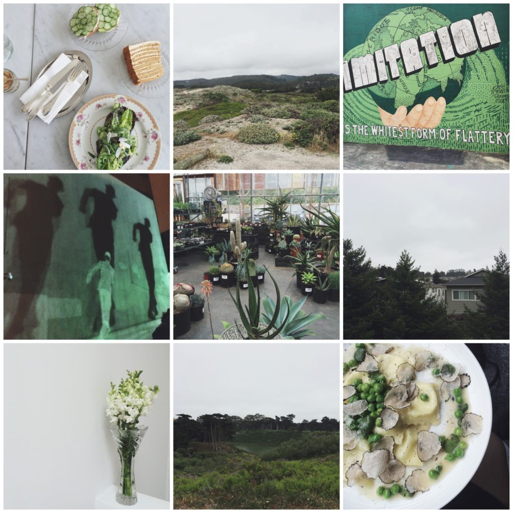 Fashion Soup for the Sartorial Soul: Saturated Summer #2 (Green)