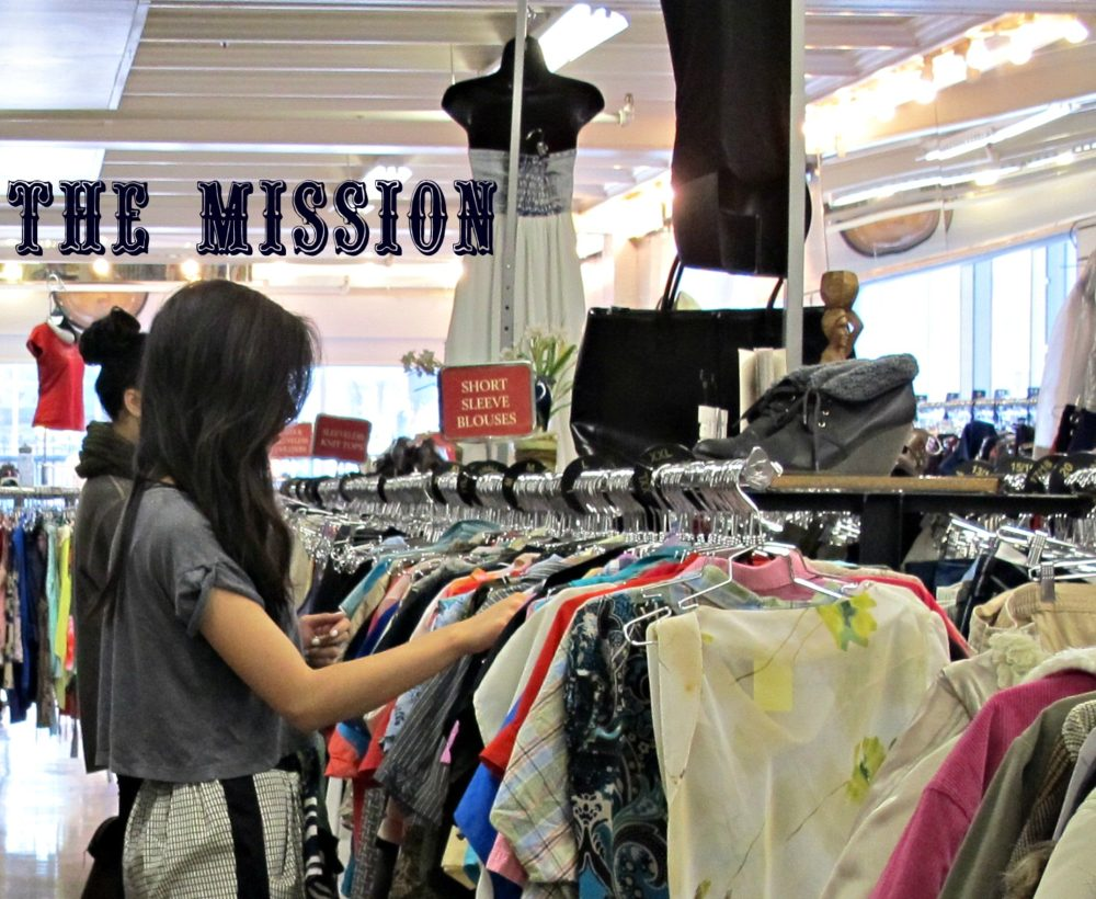 Thrifty Business: The Mission