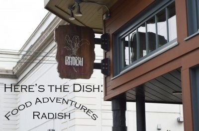 Here's The Dish: You're Rad(ish)