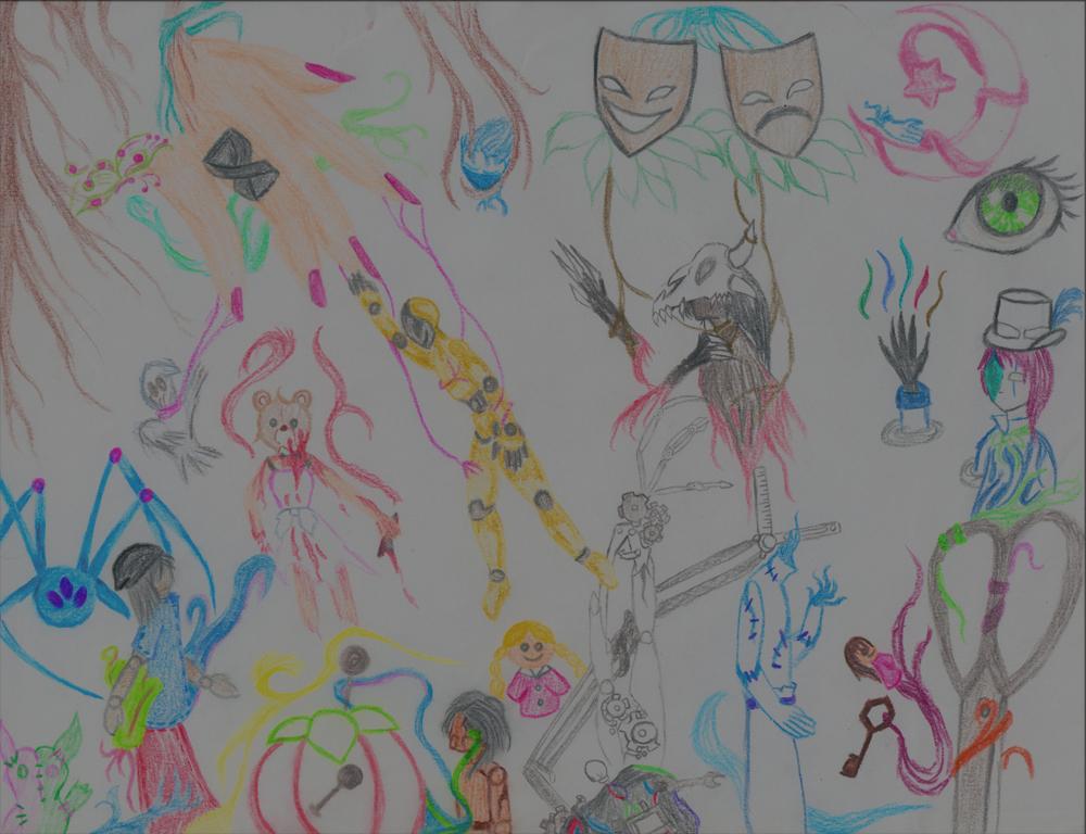 Unseen Light: Spirit Puppet Doodles