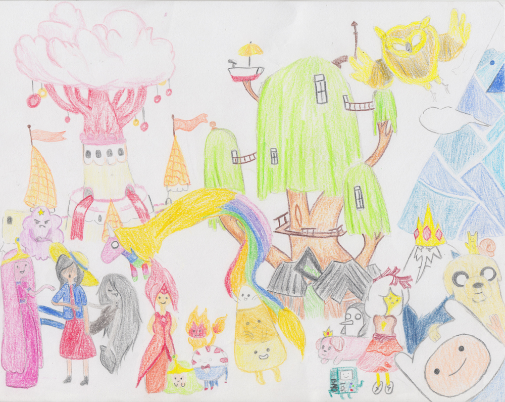 Unseen Light: Adventure Time
