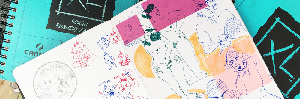 Tip Jar: Sketchbook'd
