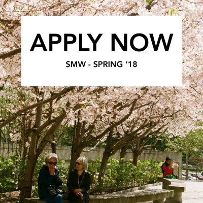 NOW ACCEPTING SMW APPS FOR SPRING 2018!