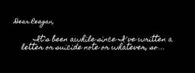 Suicide Notes to Myself: The Pain Will Fade