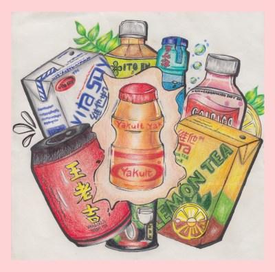 Art of the Arts: Nostalgic Drinks
