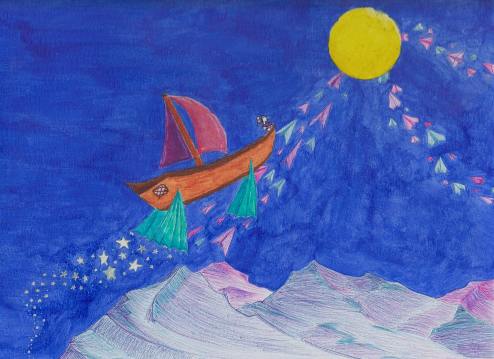 From Ears to Eyes: Sailboats