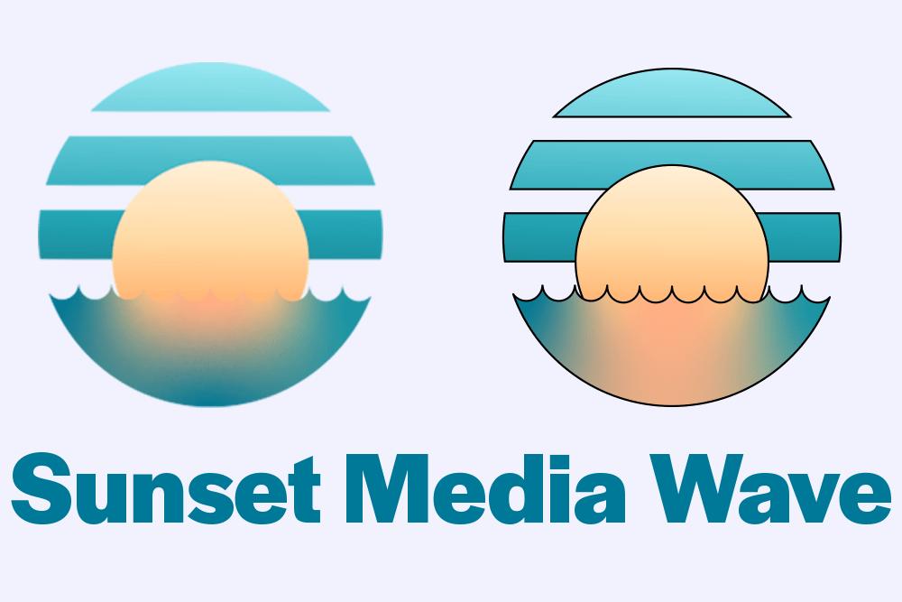 ReReDesign: Sunset Media Wave