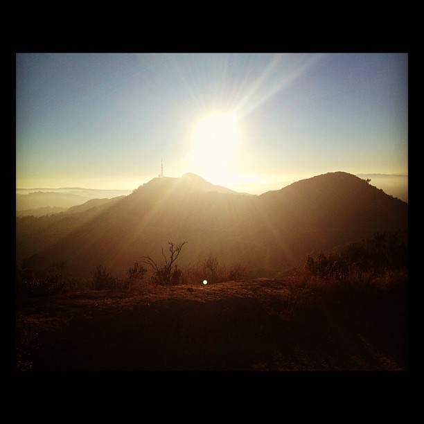 View from Griffith Park trails