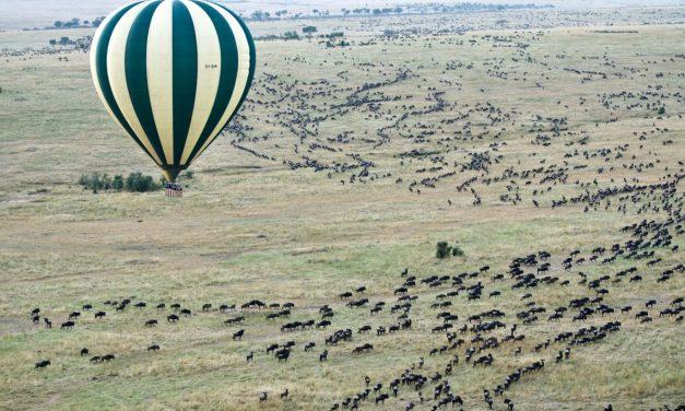 Balloon Safari -Tanzania