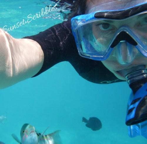 Fish selfie - Japan