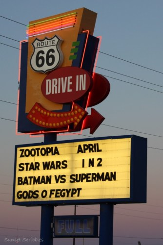 drive in theater - route 66