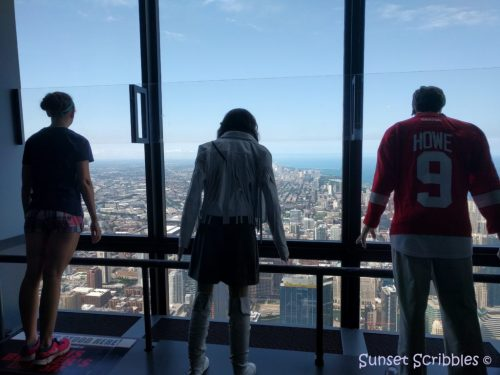 Willis Tower skydeck - Chicago