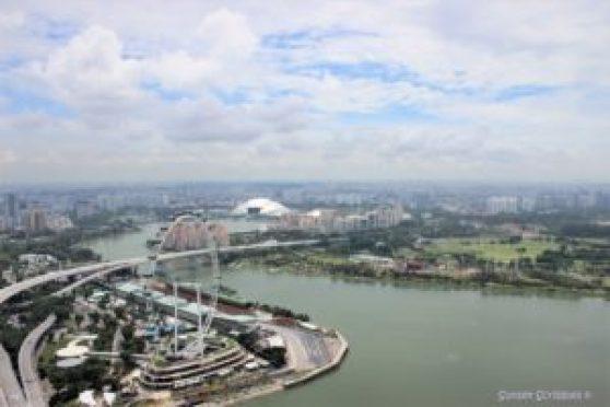 Singapore - Marina Bay Sands Hotel Skypark