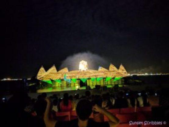 Singapore - Sentosa light show