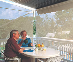 sunsetter retractable awnings awning
