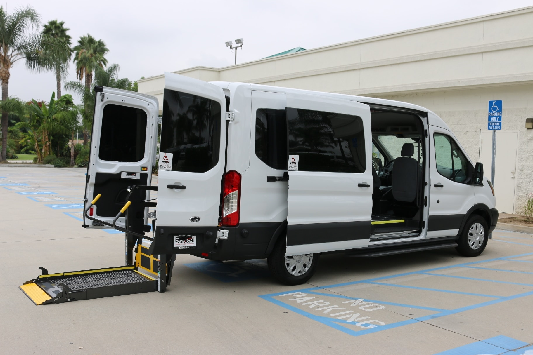 Commercial Wheelchair Vans  Gurney and Stretcher