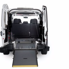 Wheelchair Van Parts No Plumbing Pedicure Chair Ram Promaster City Ada