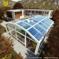 Swimming Pool Enclosures - Sunshield Glass Pool Dome ...