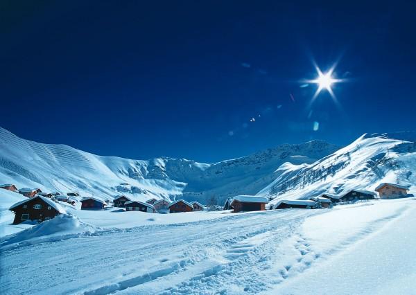 На ски в Лихтенщайн