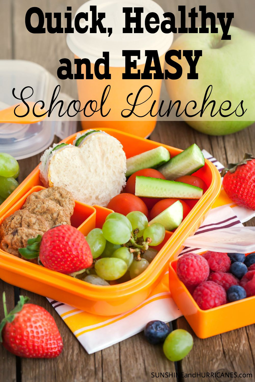 Healthy Quick and Easy School Lunches