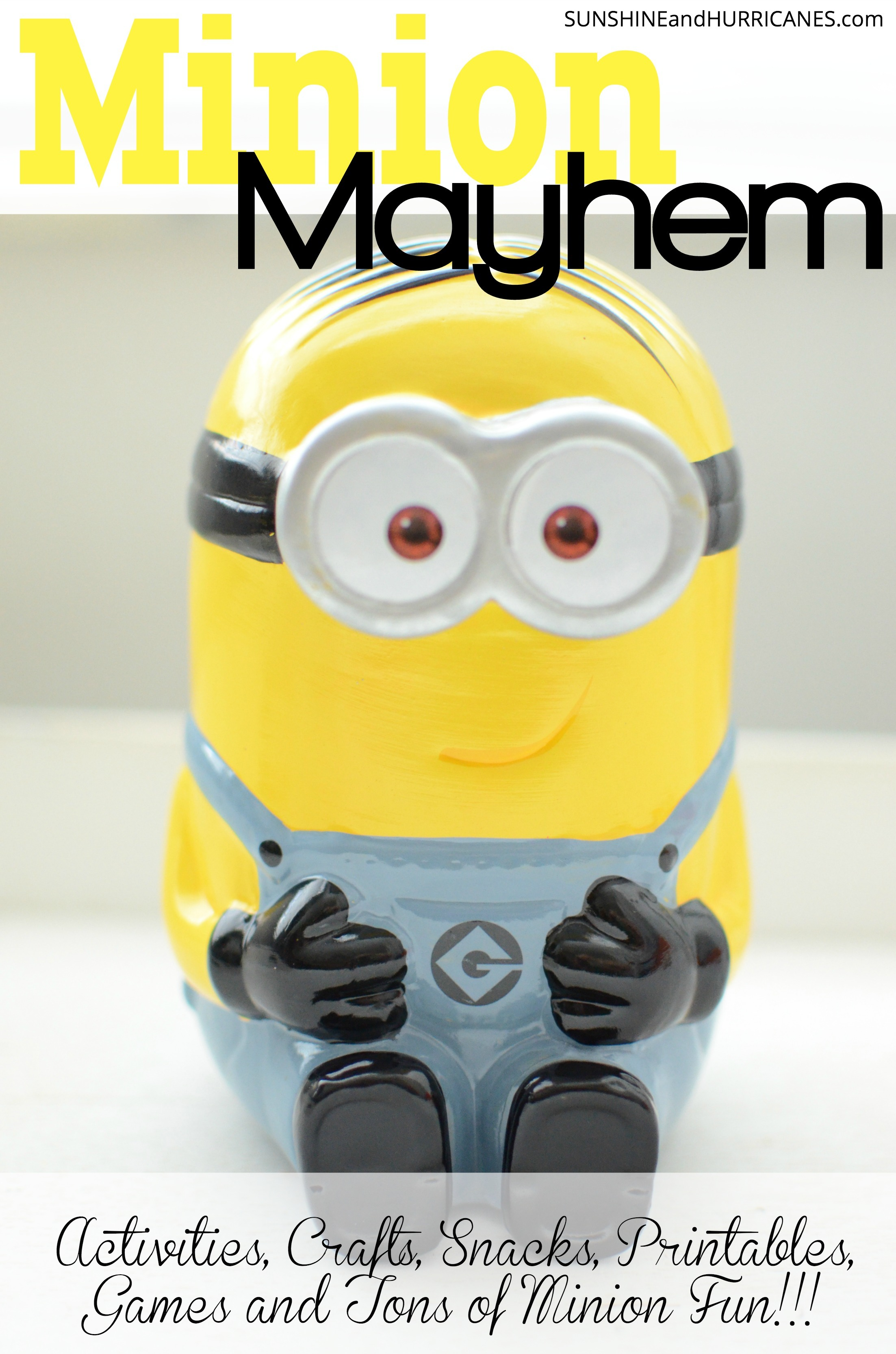 Minion Activities Games Printables And More