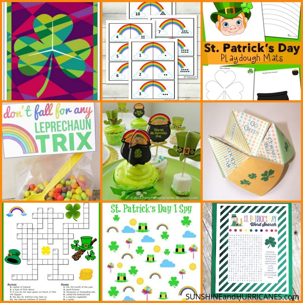 St Patrick S Day Printables