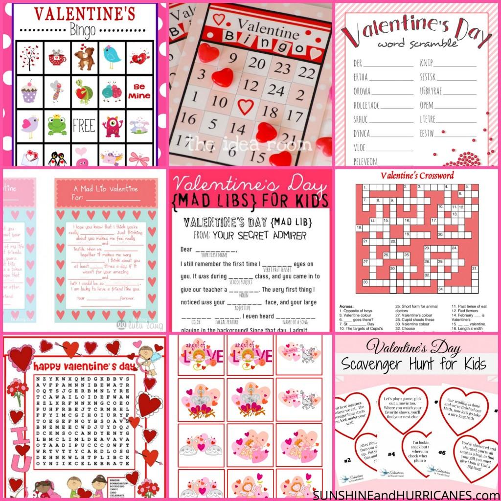 Valentine S Day Printable Round Up
