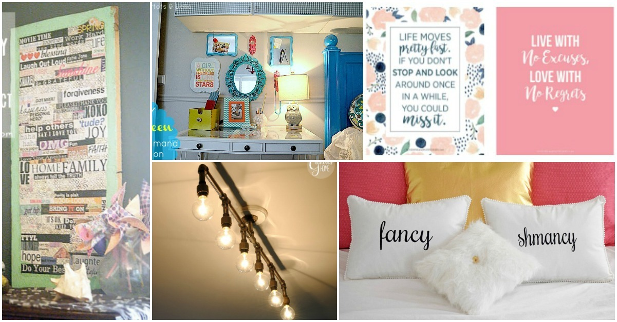 Teen Room Decor 15 Stylish Diy Projects For Teen Girls